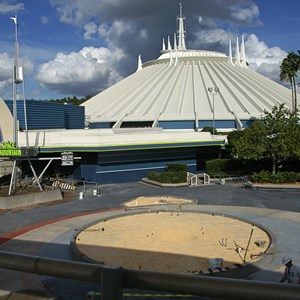 7 of 8: Space Mountain - Space Mountain refurbishment