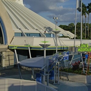 1 of 4: Space Mountain - Space Mountain refurbishment