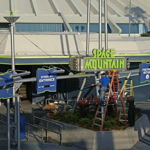 2 of 4: Space Mountain - Space Mountain refurbishment