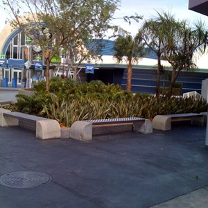 2 of 4: Space Mountain - Space Mountain refurbishment walls down