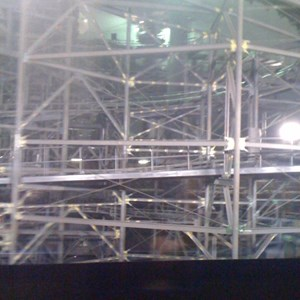 2 of 2: Space Mountain - Space Mountain refurbishment - TTA walls down
