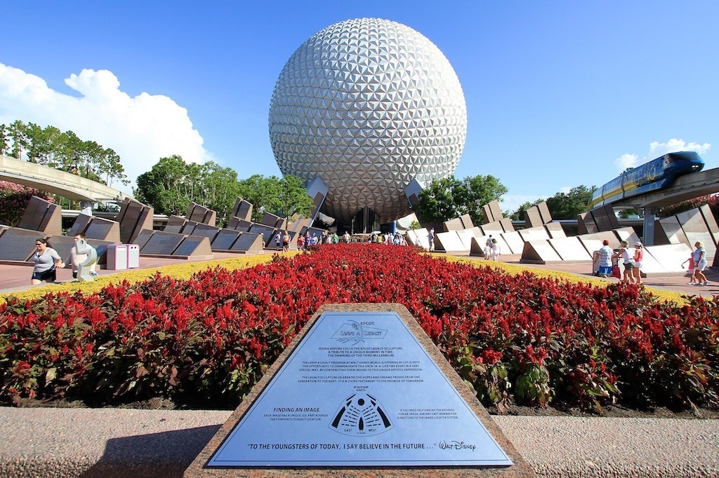Spaceship Earth exterior 2010