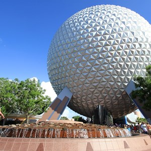 2 of 4: Spaceship Earth - Spaceship Earth exterior 2010