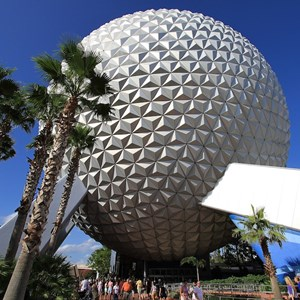 4 of 4: Spaceship Earth - Spaceship Earth exterior 2010