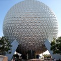 Spaceship Earth - The design now removed