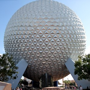 2 of 5: Spaceship Earth - The design now removed