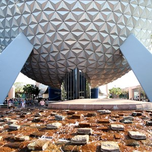 3 of 5: Spaceship Earth - Leave a Legacy design removed from supports