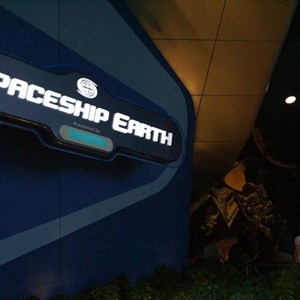 5 of 73: Spaceship Earth - Soft opening ride through
