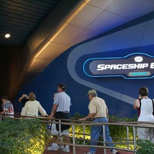 6 of 73: Spaceship Earth - Soft opening ride through