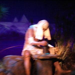 18 of 73: Spaceship Earth - Soft opening ride through
