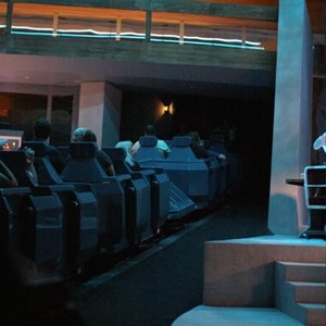 57 of 73: Spaceship Earth - Soft opening ride through