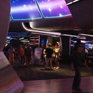 73 of 73: Spaceship Earth - Soft opening ride through