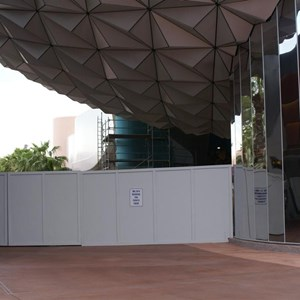 1 of 3: Spaceship Earth - Exterior refurbishment
