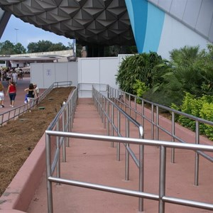 3 of 3: Spaceship Earth - Exterior refurbishment
