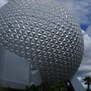 1 of 16: Spaceship Earth - Walkway reopens