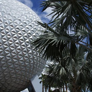 3 of 16: Spaceship Earth - Walkway reopens