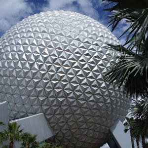 4 of 16: Spaceship Earth - Walkway reopens