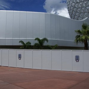 5 of 16: Spaceship Earth - Walkway reopens
