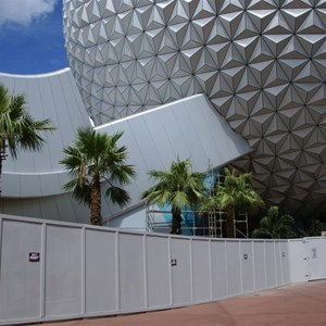 6 of 16: Spaceship Earth - Walkway reopens