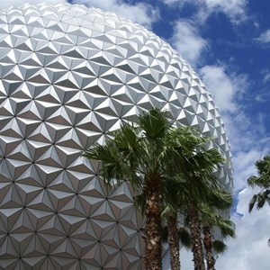 8 of 16: Spaceship Earth - Walkway reopens