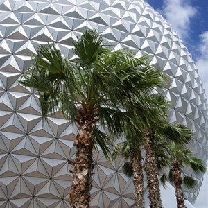 9 of 16: Spaceship Earth - Walkway reopens