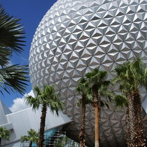 13 of 16: Spaceship Earth - Walkway reopens