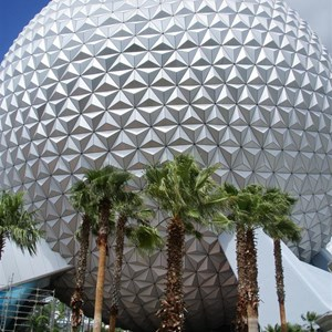 14 of 16: Spaceship Earth - Walkway reopens