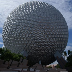 16 of 16: Spaceship Earth - Walkway reopens