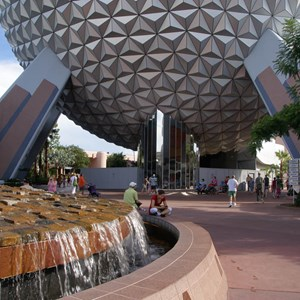 1 of 10: Spaceship Earth - New landscaping
