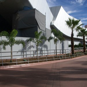 2 of 10: Spaceship Earth - New landscaping