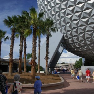 6 of 10: Spaceship Earth - New landscaping