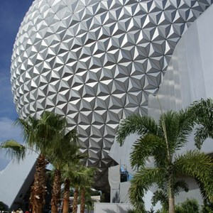 9 of 10: Spaceship Earth - New landscaping