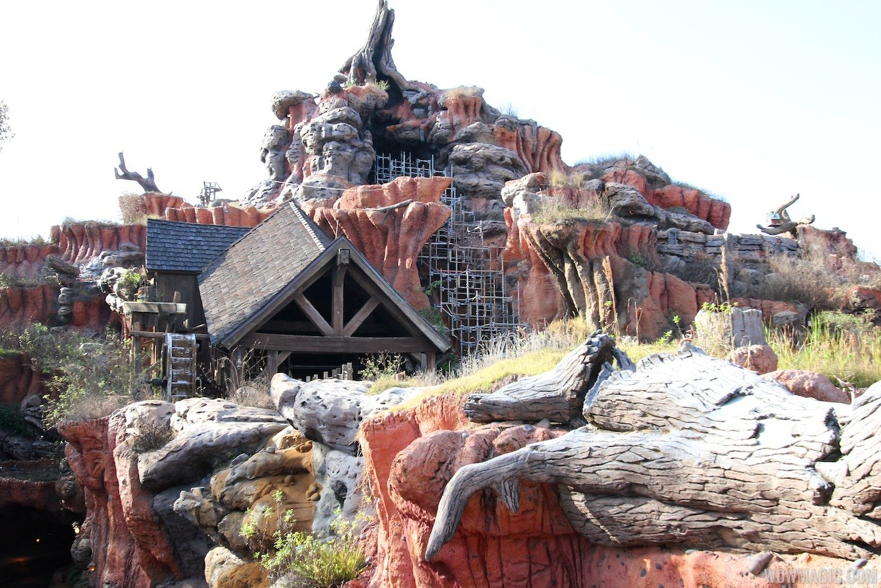 Splash Mountain refurbishment