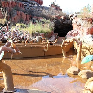 2 of 9: Splash Mountain - Splash Mountain refurbishment 2013
