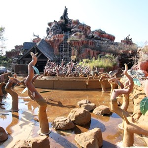 5 of 9: Splash Mountain - Splash Mountain refurbishment 2013