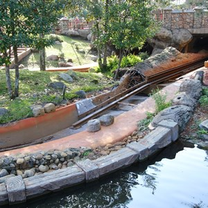 7 of 9: Splash Mountain - Splash Mountain refurbishment 2013