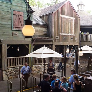 3 of 5: Splash Mountain - Splash Mountain load area after refurbishment