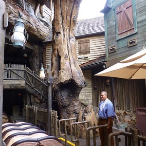 4 of 5: Splash Mountain - Splash Mountain load area after refurbishment