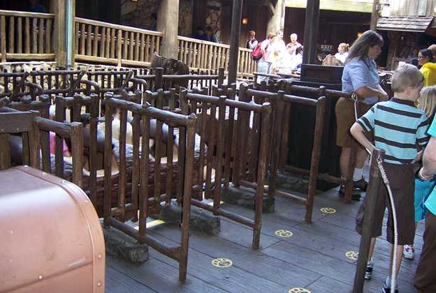 Splash Mountain new third loading area