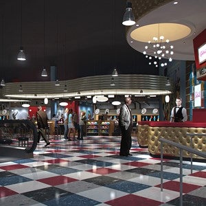 1 of 2: Splitsville - Splitsville interior concept art