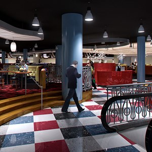 2 of 2: Splitsville - Splitsville interior concept art