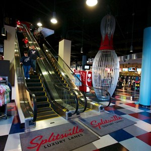7 of 48: Splitsville - View from the Splitsville lobby