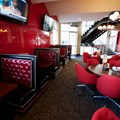Splitsville - Splitsville lower level dining area
