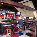Splitsville - Splitsville lower level bar area