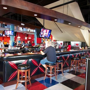 14 of 48: Splitsville - Splitsville lower level bar area
