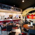 Splitsville - Splitsville lower level sushi bar