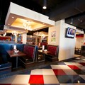 Splitsville - Splitsville upper level dining area
