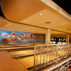 29 of 48: Splitsville - Splitsville upper level bowling lanes