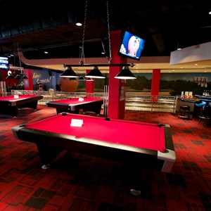 31 of 48: Splitsville - Splitsville upper level pool tables