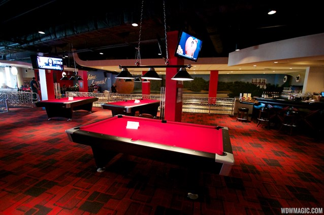 Splitsville - Splitsville upper level pool tables